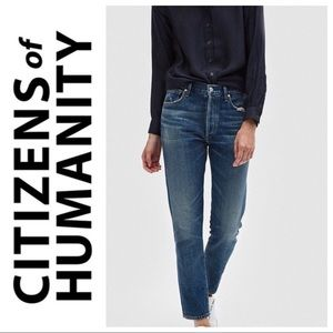 Citizen's of Humanity Liya High Rise Classic Jeans